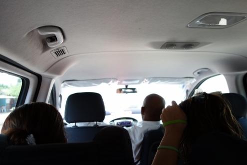 sardines in a van