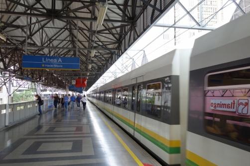 Medellin metro system