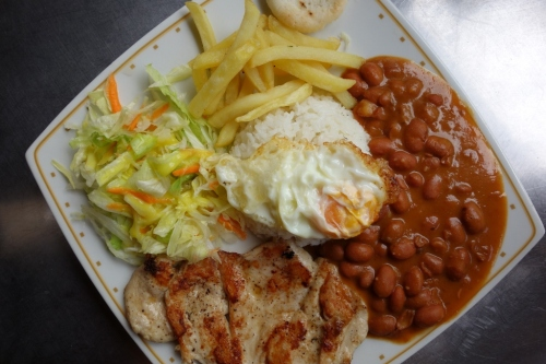 Typical Colombian dish