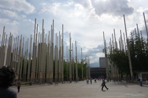 Modern art sculptures (Medellin, Colombia)