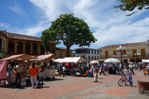Weekend market (Jerico, Colombia)