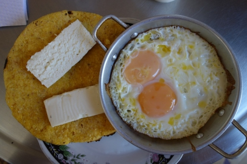 Delicious breakfast (Jerico, Colombia)