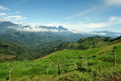 Mountain vistas (Jardin, Colombia)