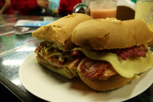 "The ""El Enano"" sandwich"