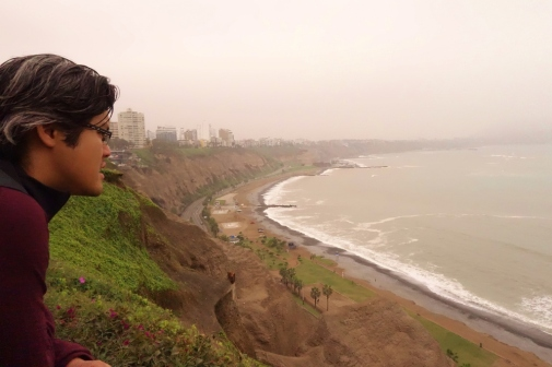 The bluffs at Miraflores