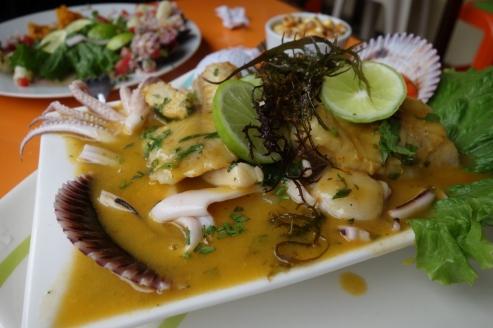 Seafood stew (Lima, Peru)