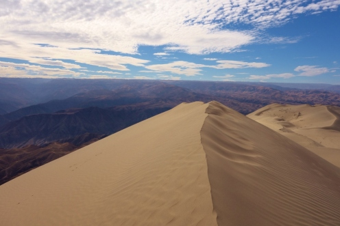 Cerro Blanco in Nazca, Peru