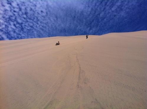 From halfway down Cerro Blanco