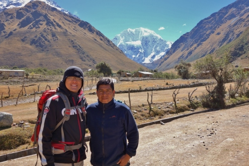 Soraypampa - start of Salkantay Trek