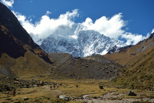 Approaching Salkantay Mountain, Peru