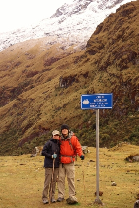 Day 2 of Salkantay Trek to Machu Picchu, Peru