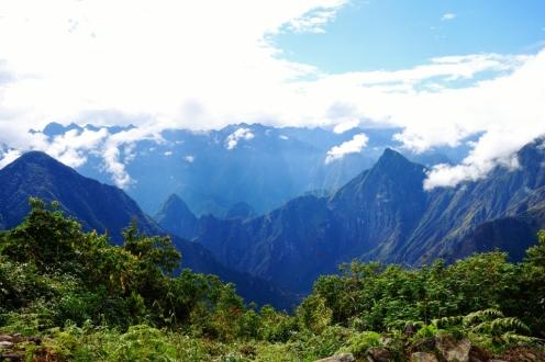 Machu Picchu from Llactapata