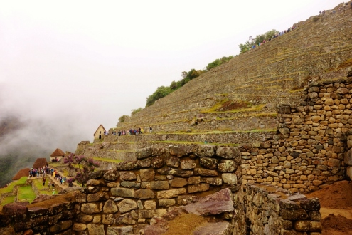 Terraces of Machu Picchu