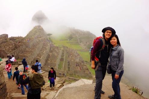 Foggy Machu Picchu