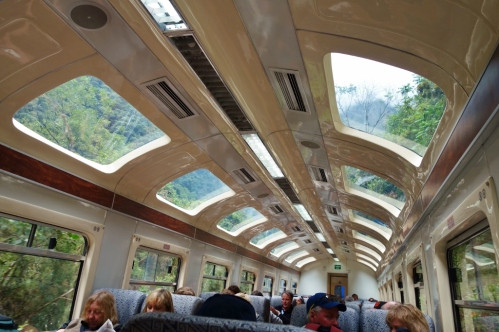 PeruRail - train to Machu Picchu