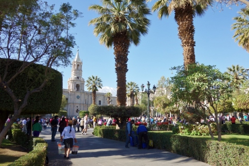 Arequipa's main square