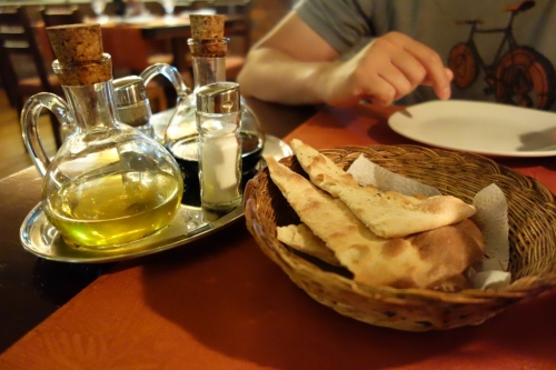Bread basket at Zingaro (Arequipa, Peru)