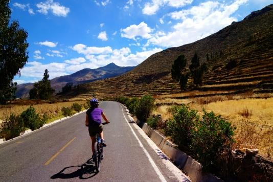 Scenery around Chivay, Peru