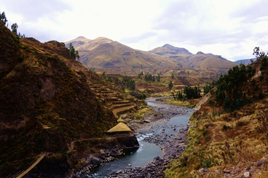 Rio Colca, Peru