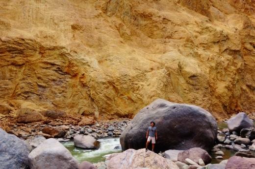 Rio Colca, Sangalle, Peru
