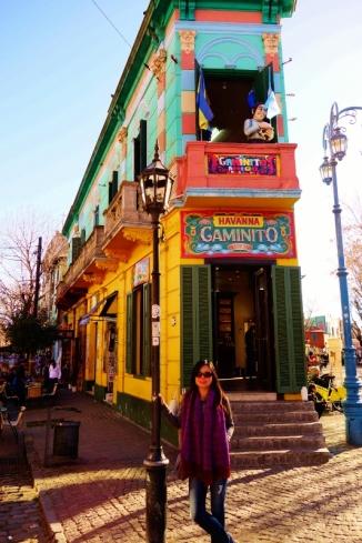 El Caminito in La Boca (Buenos Aires)