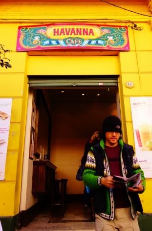 Havanna cafe in the El Caminito area