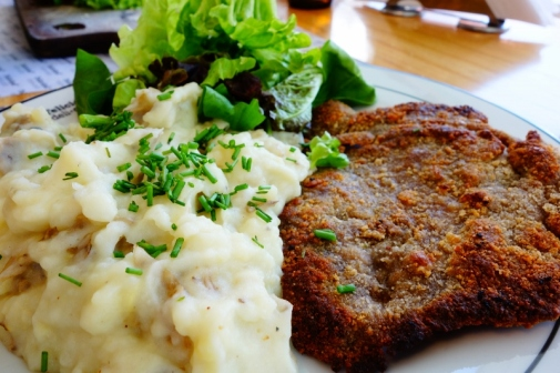 Milanesas - like schnitzel but better