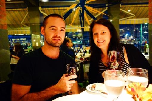 Kiwi couple: Craig and Sarah