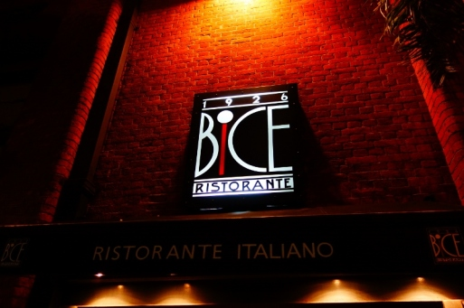 Third restaurant: Bice