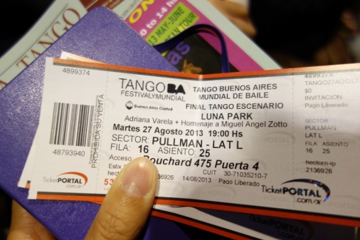 Buenos Aires World Tango Championship tickets