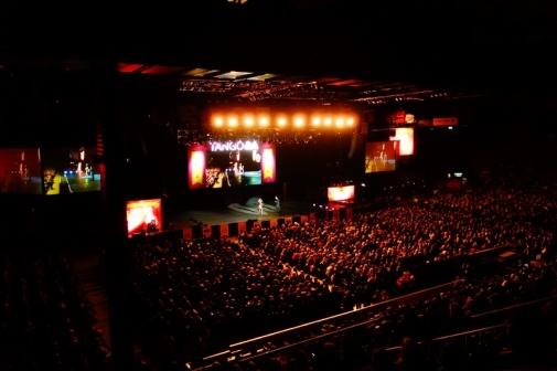 Luna Park Stadium in Buenos Aires