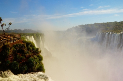 Devil's Throat at Iguazu Falls (Argentina)