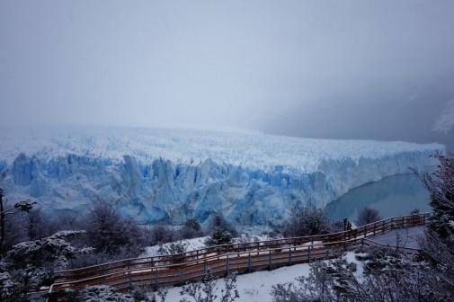 Northern side of Perito Moreno Glacier