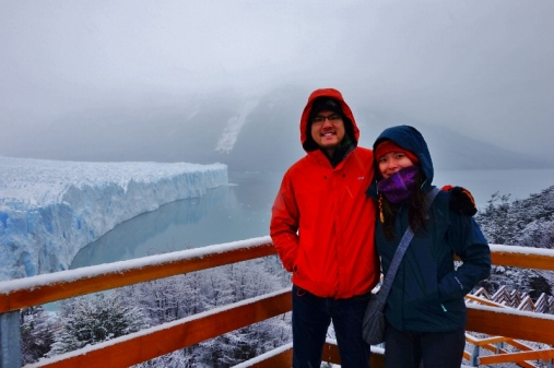 Northern side of Perito Moreno Glacier