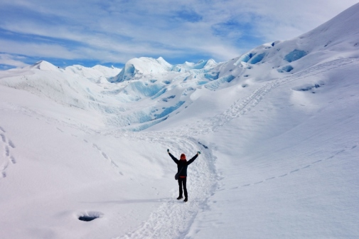 Glacier walking on Perito Moreno Glacier