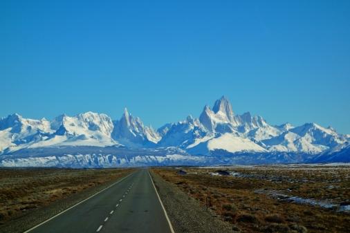 Cerro Fitz Roy and Cerro Torre mountains (Argentina)