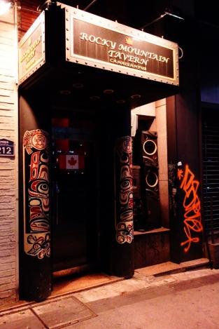 Rocky Mountain Tavern in Itaewon neighbourhood in Seoul