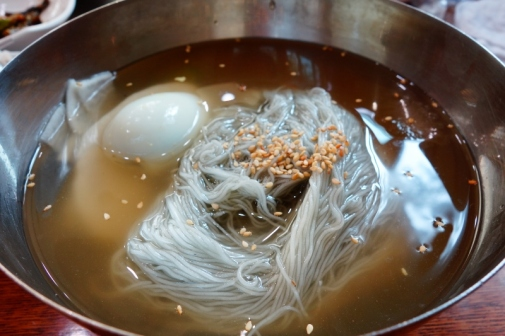 Naengmyeon (Suburbs of Seoul, South Korea)
