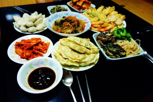 Home-cooked meal for Chuseok (Seoul, Korea)