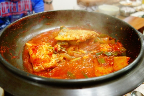 Spicy fish & sauce (Jeju Island, South Korea)