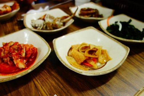 Banchan (Jeju Island, South Korea)