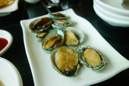 Live abalone (Jeju Island, South Korea)