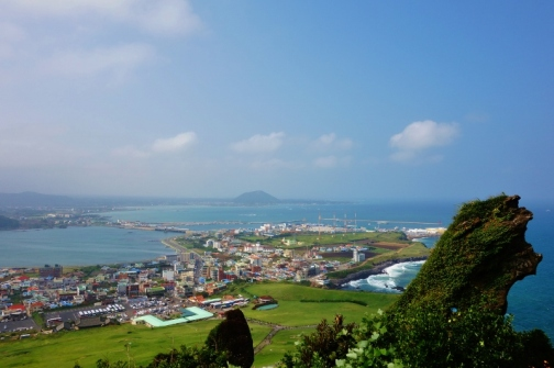 Seongsan Ilchulbong, Jeju, South Korea