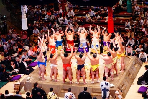 Makuuchi division, Grand Sumo Tournament, September 26, 2013