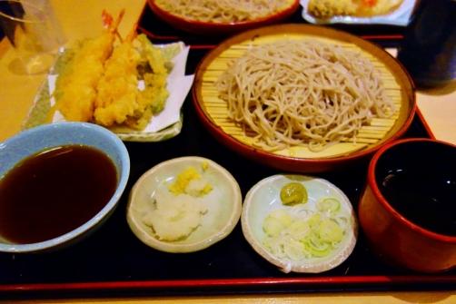 Zaru soba meal (Tokyo, Japan)