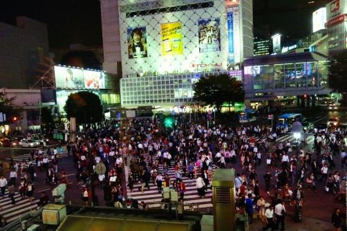 Shibuya Crossing (Tokyo, Japan)