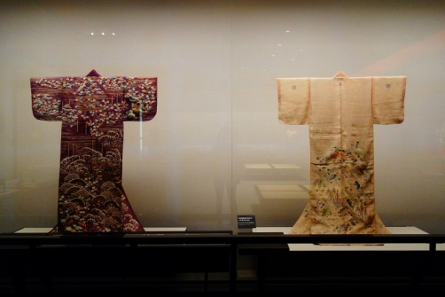 Traditional dress exhibit (Edo-Tokyo Museum)