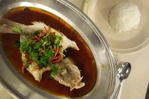 Fresh seafood (Perhentian Islands, Malaysia)