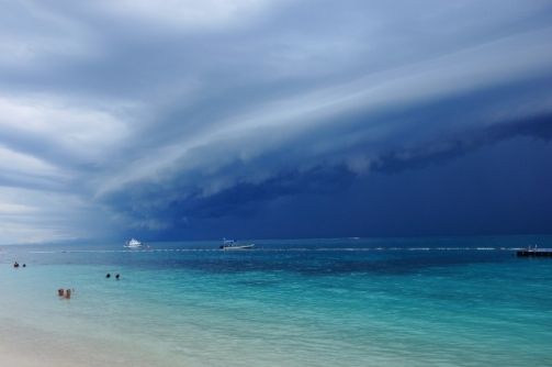Approaching storm (Perhentian Islands, Malaysia)