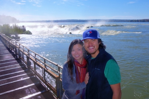 Leaving Devil's Throat, Iguazu Falls